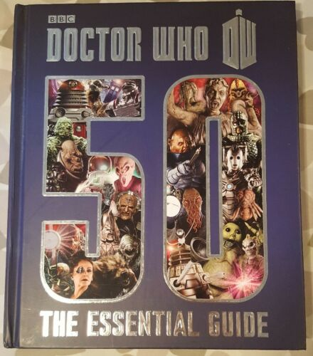 1 of 1 - DOCTOR WHO 50 YEARS THE ESSENTIAL GUIDE HARDBACK BOOK DR WHO ILLUSTRATED