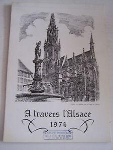 Calendrier A Travers L 'alsace De 1974 .1 Dessin Noir Et Blanc Par Ville Et Mois B5q9zr4t-07172759-983758788