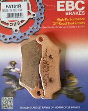 EBC/FA181R Sintered Brake Pads (Front) - Yamaha XT660Z Tenere, BMW G450X