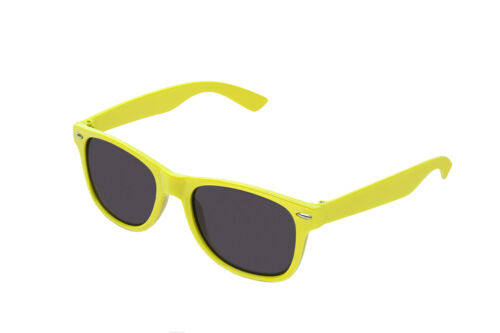 Flat Revo Colour Lens Large Horn Rimmed Style Sunglasses Includes Pouch UV400