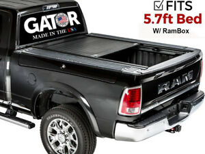Gatortrax Gloss Fit 2009 2018 Dodge Ram 5 7 Ft Retractable Tonneau Cover W Rb Ebay