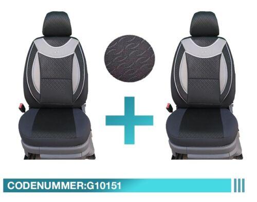 Maßgefertigte Schonbezüge Sitzbezüge Renault Trafic Fahrer /& Beifahrer G10151