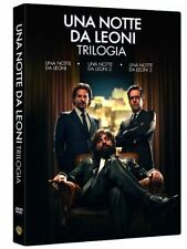 Una Notte Da Leoni 1 ,2 e 3 - La Trilogia Cof. ( 3 DVD ) I 3 Film in Cofanetto