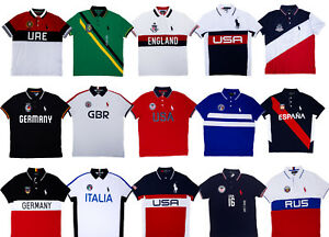 32c7dd88c ... official store image is loading men polo ralph lauren country polo  shirt big 303f3 61f29