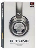 Monster N-tune Noise Isolating On-ear Headphones W/ Controltalk - Diamond Silver