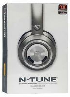 Monster N-tune Noise Isolating On-ear Headphones W/ Controltalk - Diamond Silver