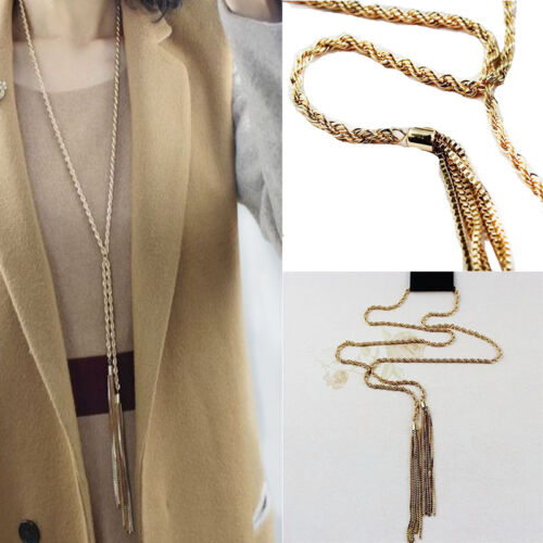Fashion Lady/&Girl Crystal  Necklace Pendants Chunky Choker Charm Long Chain