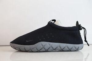 Nike Air Moc Tech Fleece Black Cool Grey 834591-010 6-13 techknit ... 08363e8a22