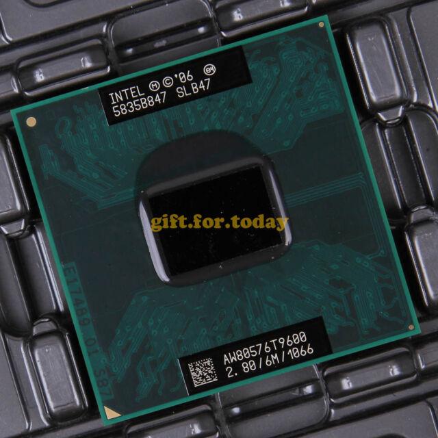 Original Intel Core 2 Duo T9600 2.8 GHz Dual-Core (AW80576GH0726M) Processor CPU