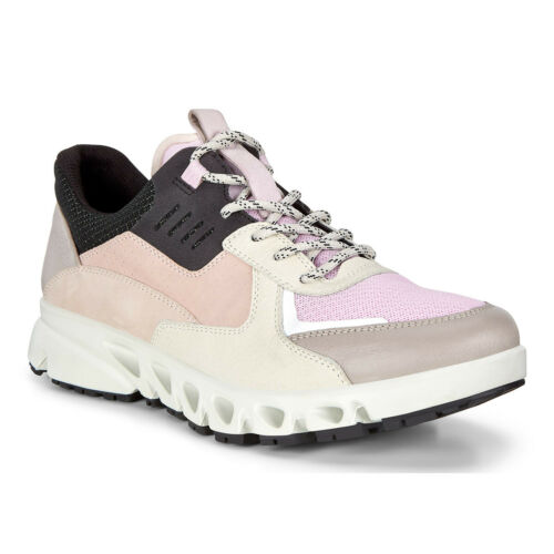 Ecco Womens Multi-Vent W Leather Waterproof Breathable Comfort Trainers