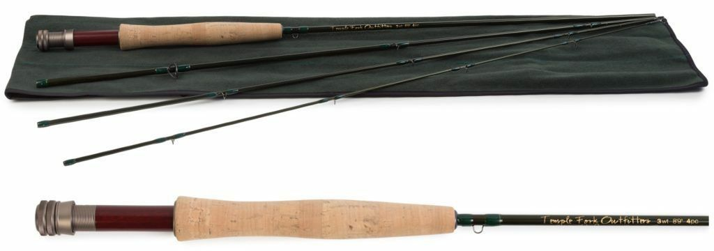 Temple Fork Finesse Fly Rod 0.5 WT. 5' 0  3 PC.