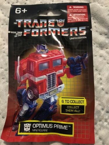 2019 Hasbro Transformers Limited Edition AUTOBOT-OPTIMUS PRIME Mini Figurine