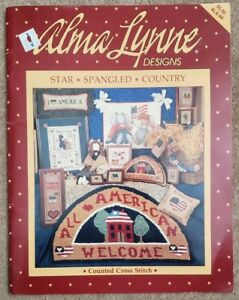 Alma-Lynne-Designs-Counted-Cross-Stitch-Booklet-ALX-66-Star-Spangled-Country