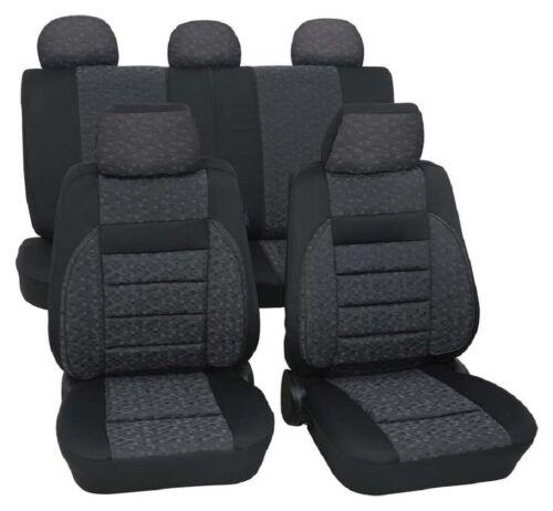 C Autositzbezug Jacquard gewebt Relax grau Schonbezug Opel Vectra A B