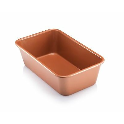 "Gotham Steel Bakeware Copper Loaf Baking Pan Non Stick - 9.7"" x 5.75"" - NEW!"