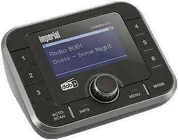 Imperial Dabman 410 DAB+ HiFi Adapter Bluetooth Sender- und Empfängerfunktion