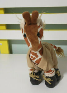 Australia-Zoo-Forrest-Giraffe-Plush-Toy-w-Clothes-amp-Shoes-21cm-Tall