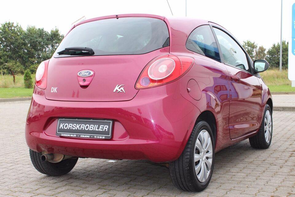 Ford Ka 1,2 SE Benzin modelår 2010 km 189000 Bordeauxmetal