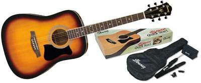 ibanez v50njp vs acoustic guitar jam pack inc gig bag tuner strap sunburst 606559746415 ebay. Black Bedroom Furniture Sets. Home Design Ideas