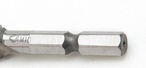 """Select Size 6-32 to 1//4/""""-20 HSS Right Hand Thread Drill//Tap Bit 1//4/"""" Hex Shank"""