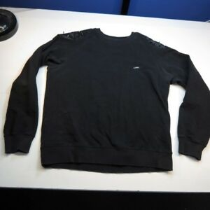 Hudson Foreign Money Silver Studded Black Crewneck Sweatshirt Clothing, Shoes & Accessories Men's Clothing Mens Size Xlarge