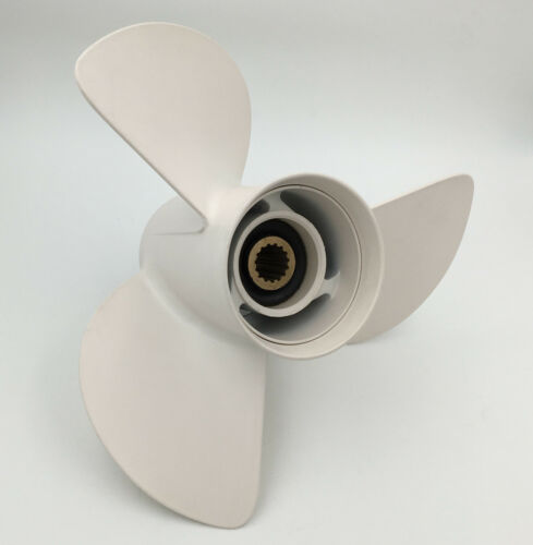 13 1//2x15 Pitch Aluminum Outboard Propeller 6E5-45947-00-EL For Yamaha 50-130HP