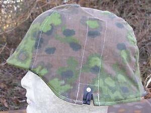 Original-Elite-XX-Fabric-Helmbezug-Stahlhelm-Oakleaf-Eichenlaub-Tarn