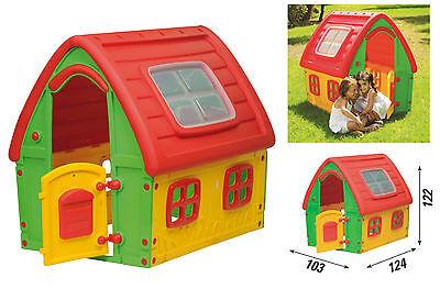 casa gioco da giardino casetta per bambini idea regalo altezza cm 122