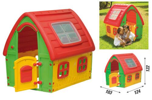 casa gioco da giardino casetta per bambini idea regalo altezza cm. 122
