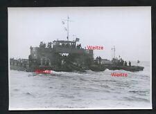 Original Pressefoto Jugend auf einem Sturmboot Lehrgang  Wehrmacht 2.Weltkrieg
