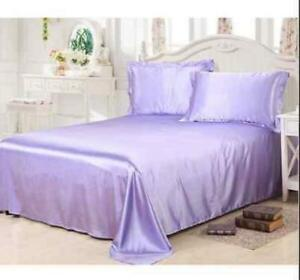 Pure Silk Bedding Cool Sheets Queen King All Size Fashion