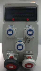 AMPMECH-MULTI-DISTR-BOX-IP66-RCCB-ABB-MCB-MENNEKES-SOCKET-TERMINAL-BLOCK