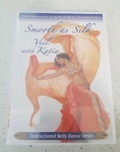 Smooth-as-Silk-veil-with-Katia-Veil-Belly-Dance-DVD-Sealed