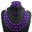 Fashion-Bohemia-Women-Jewelry-Pendant-Choker-Crystal-Chunky-Statement-Necklace thumbnail 64