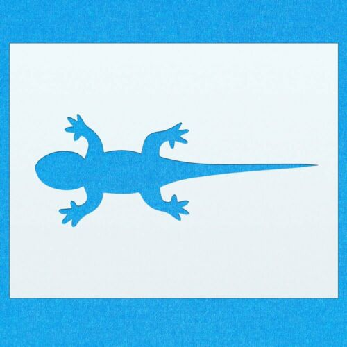 Gecko Reptile Lizard Animal Mylar Airbrush Painting Wall Art Stencil