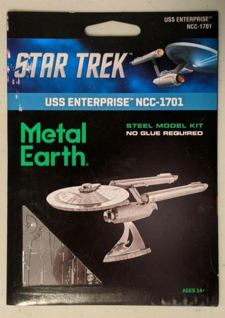 Metal Earth Star Trek:TOS USS Enterprise NCC-1701 3D Model Kit