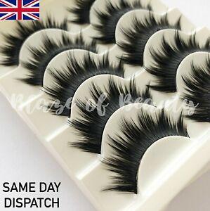 5-Pairs-False-Eyelashes-Dramatic-Volume-Thick-Wispy-Full-Strip-Lashes-MakeUp