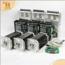 Nema34 Stepper Motor Cnc Kit 1700oz12nm 6a 14mmshaftampdq860malaser Engrav