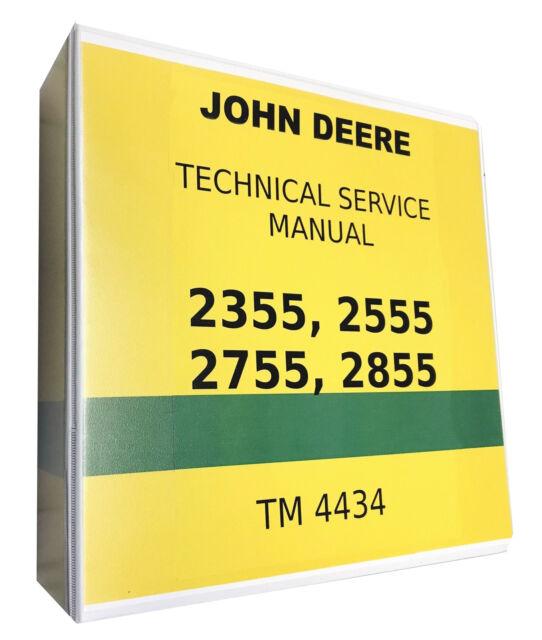 2355 John Deere Technical Service Shop Repair Manual