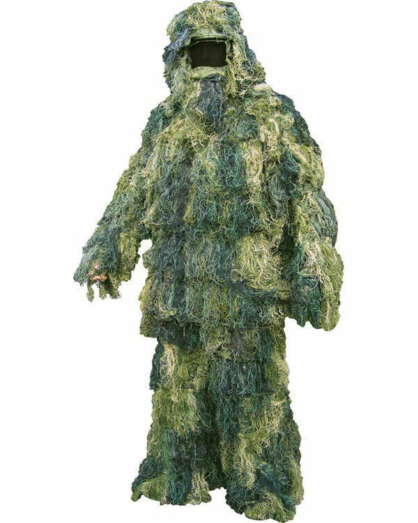 Adult Military Ghillie Suit Army Hunting Shooting Airsoft Paintball Ghilly Camo