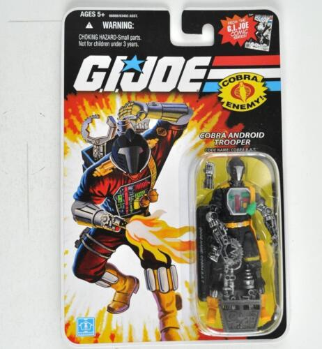 G.I.JOE COMIC SERIES COBRA ENEMY Action Figure COBRA ANDROID TROOPER