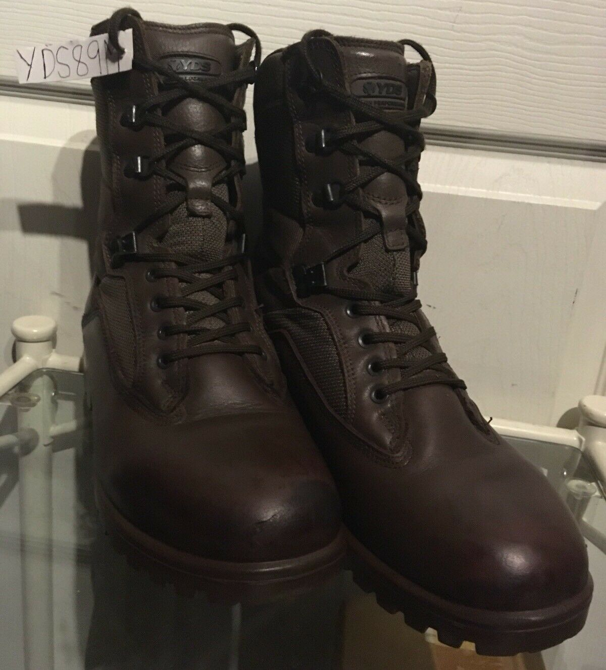 YDS Kestrel Genuine Army Issue Issue Issue braun MTP Male Combat Assault Stiefel 9M YDS89M    | Hochwertig