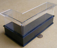1:12 Scale Black Painted Shop Display Counter Dolls House Accessory Hwrb