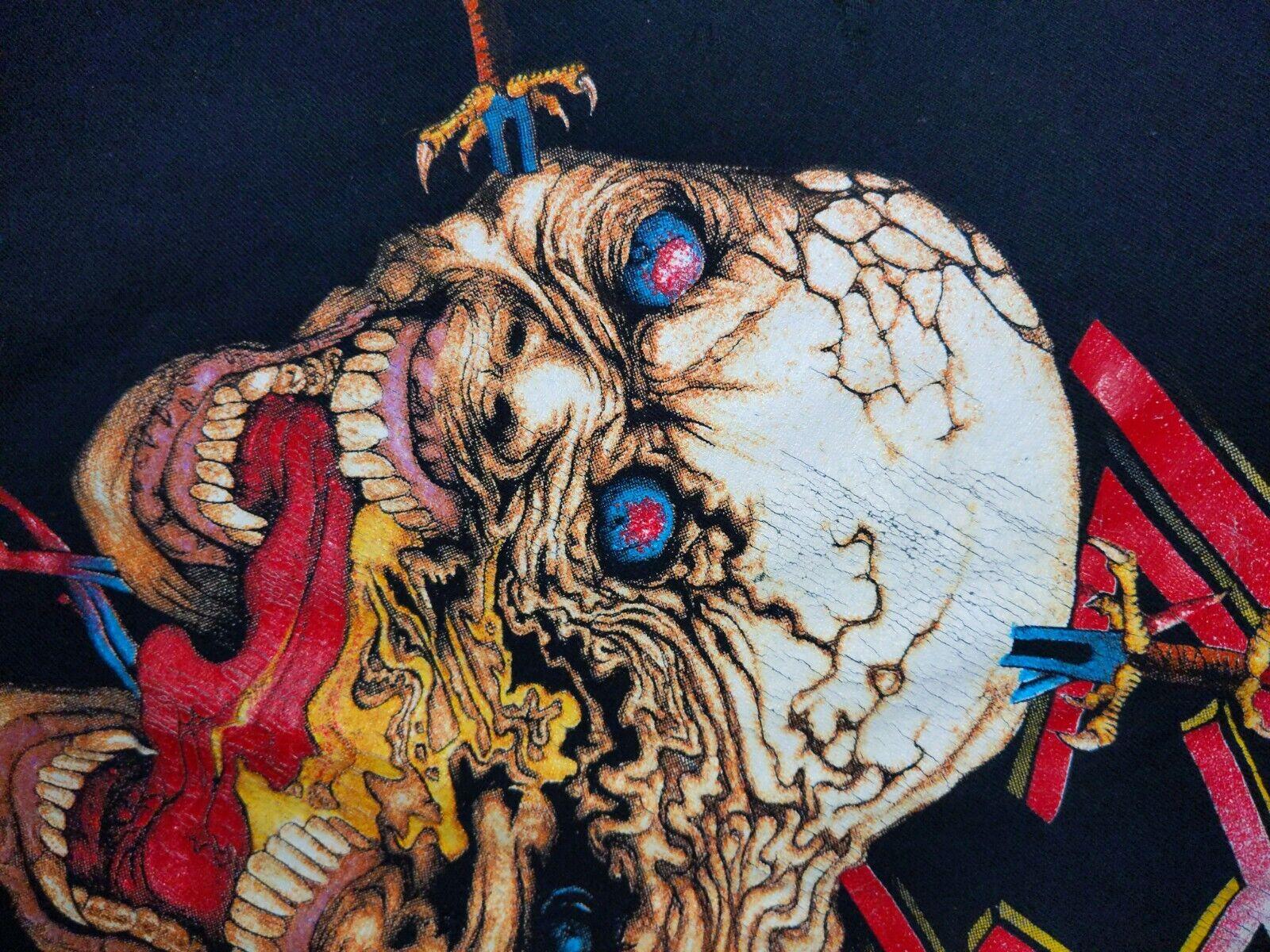SLAYER XL 1991 Clash of The Titans Vintage T Shir… - image 7