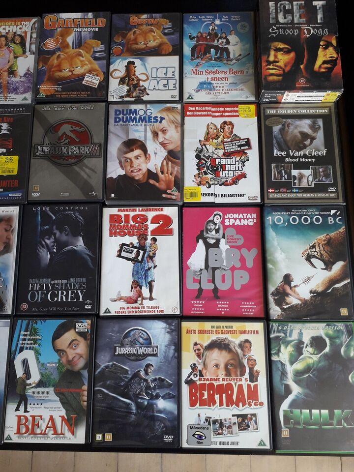 Blandede film og serie, DVD, andet