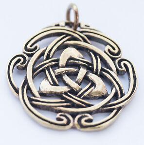 Naida-Keltische-Dreiheit-Anhaenger-Bronze-Gothic-Schmuck-NEU