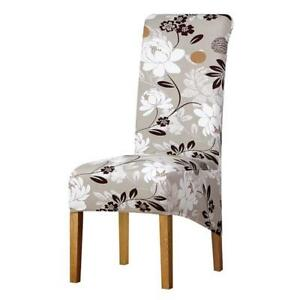 Image Is Loading High Back Large Size Chairs Covers Long Back