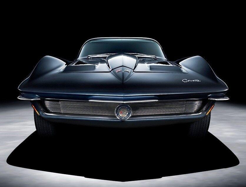 Corvette Chevy 1 Vette Sport Race Concept bil 24 årgång 43 1963 18 1967 12 1957