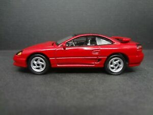 Firestorm Red Auto World  Modern Muscle 1991 Dodge Stealth R//T twin turbo