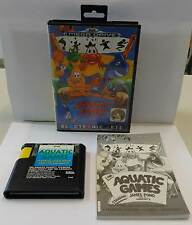 Game SEGA 16 BIT MEGA DRIVE Megadrive EUR THE AQUATIC GAMES Starring JAMES POND